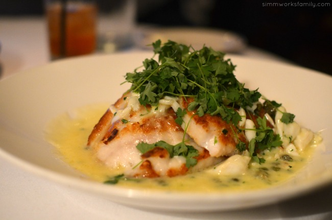San Diego Restaurant Week - Oceanaire Seafood Room Review rockfish louie
