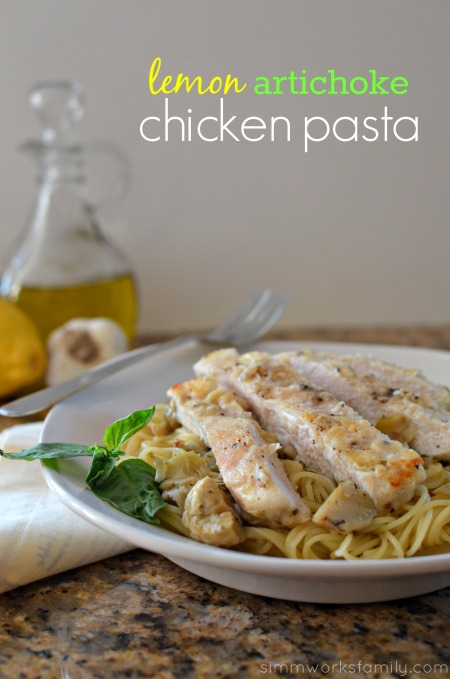 Artichoke Chicken Pasta + Pantry Staples to Save Time