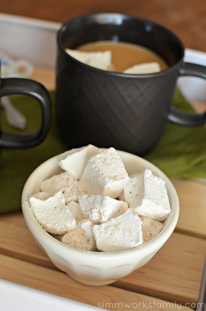 Cinnamon Marshmallow Recipe perfect in a cup of coffee