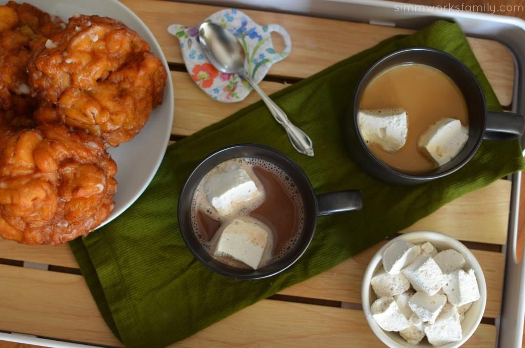 Cinnamon Marshmallow Recipe with Ambiance coffee