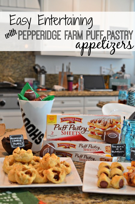 Easy Entertaining with Pepperidge Farm Puff Pastry Appetizers