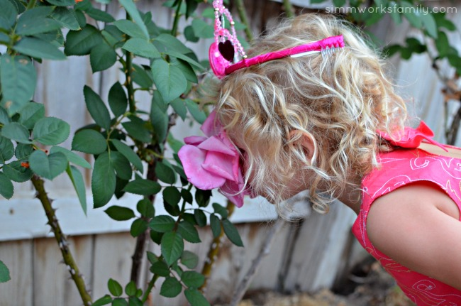 How to Be A Princess 5 Tips for Releasing Your Inner Princess - stop to smell the roses