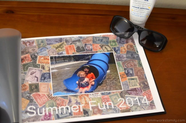 How To Make A Good Book Cover : Preserving summer memories how to make a great photo book