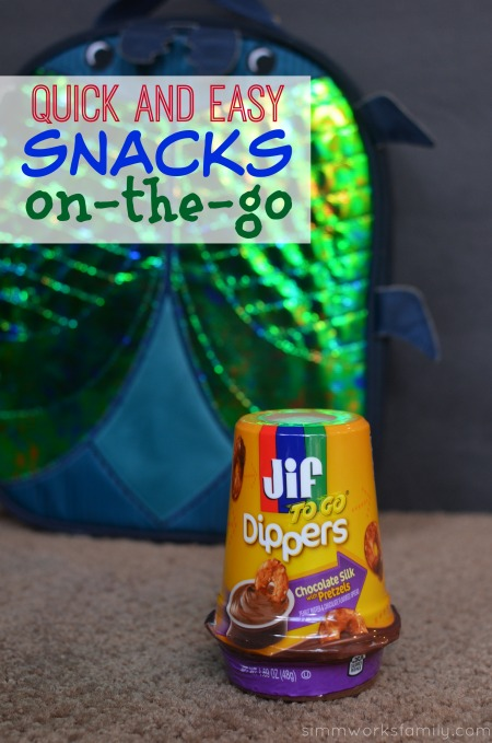 Quick and Easy Snacks On The Go - portable snacks are a must for busy moms!