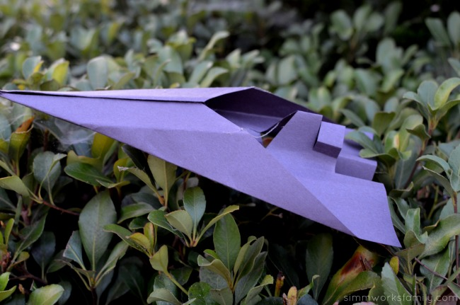 Star Wars Rebels Star Destroyer Inspired Paper Airplanes