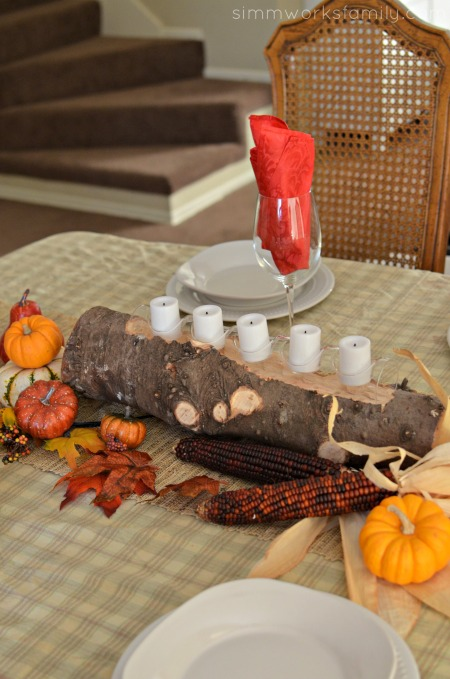 Fall Harvest Table Centerpieces - simple and festive way to decorate the home for the holidays