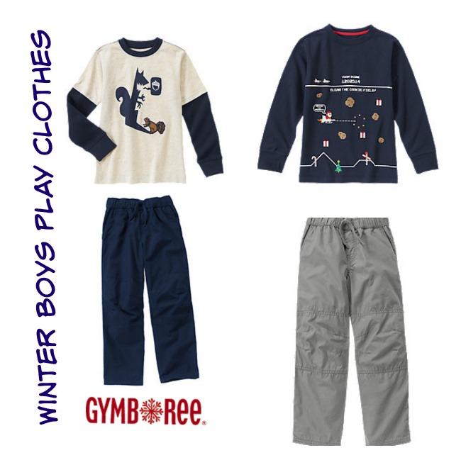 Gymboree Winter Boys Play Clothes 1