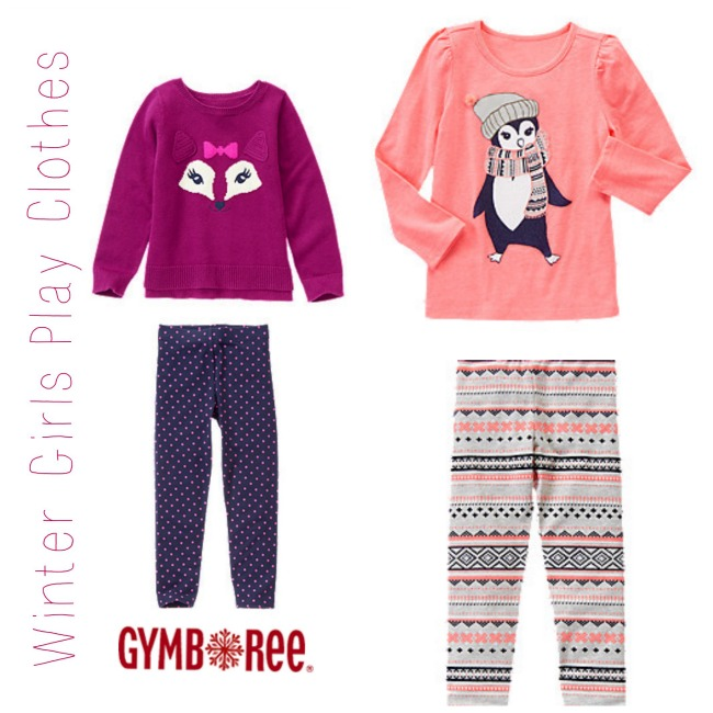 Gymboree Winter Girls Play Clothes 1