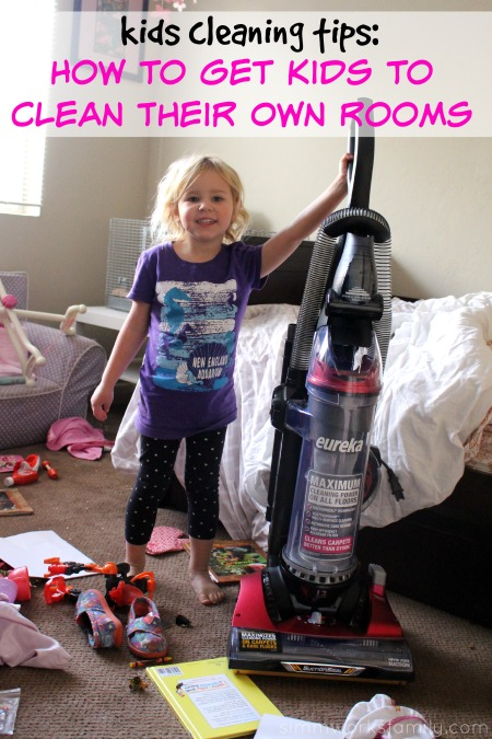 Kids Cleaning Tips How to Get Kids to Clean Their Own Rooms