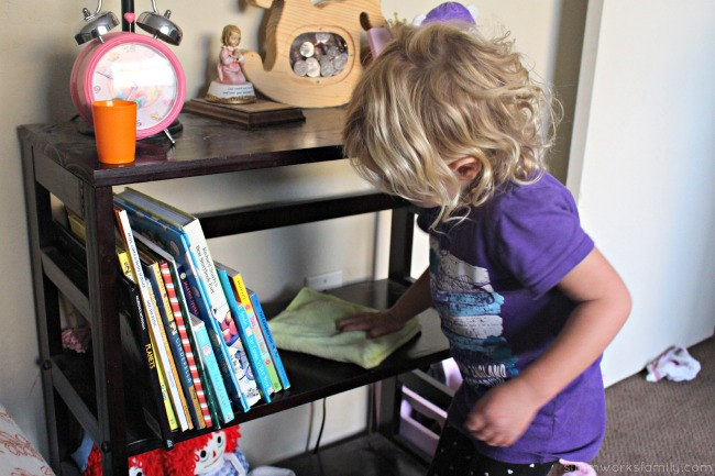 Kids Cleaning Tips - finding easy tasks