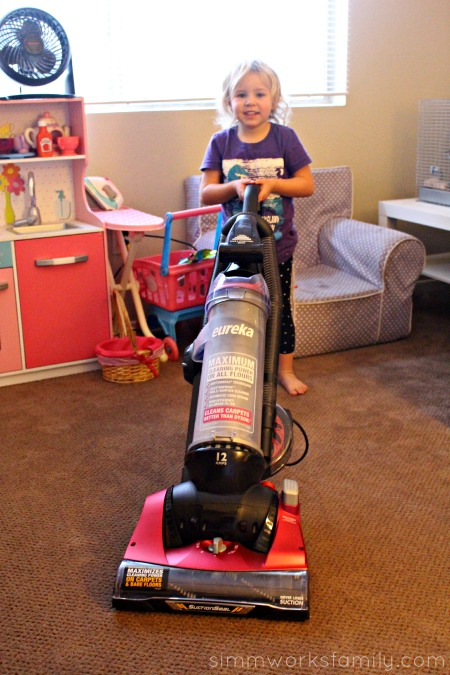 Kids Cleaning Tips - fun vacuuming