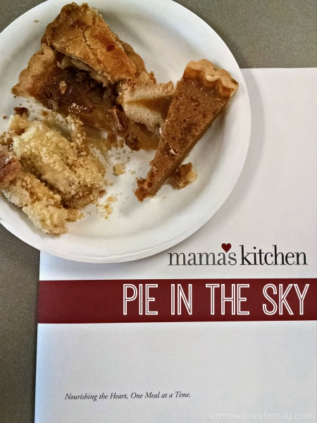Mama's Kitchen Pie in the Sky event