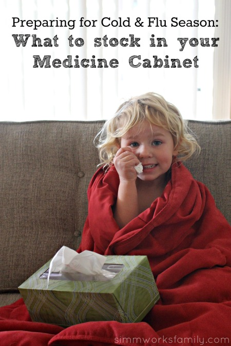 Preparing for Cold & Flu Season - What to Stock in your Medicine Cabinet