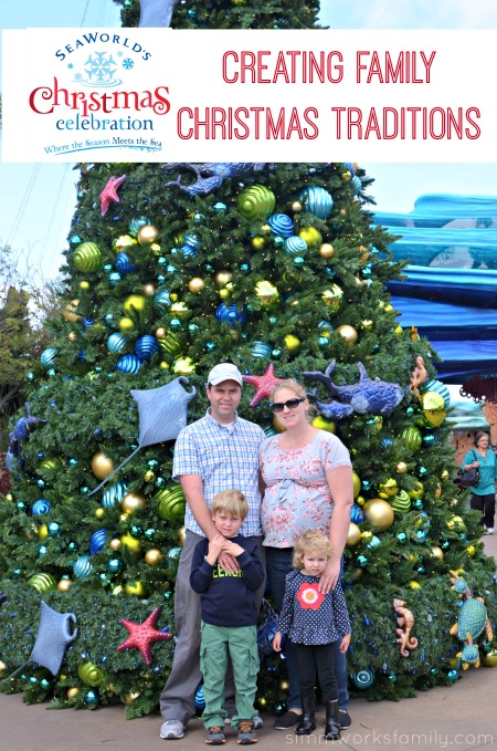 SeaWorld's Christmas Celebration - Creating Family Christmas Traditions