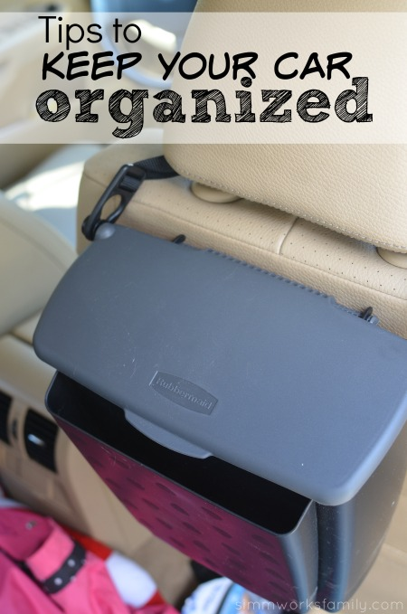 Tips to Keep Your Car Organized - if you have little kids, you know how messy they can be! Here are some tips to help. #WalmartAuto