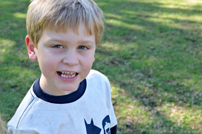 Winter Play Dates in San Diego - playing at the park with my son