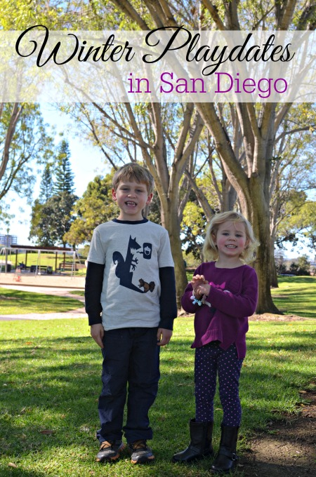 Winter Play Dates in San Diego with Gymboree