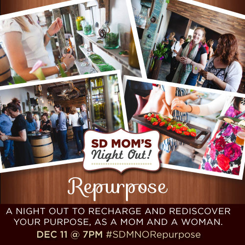SD Mom's Night Out Repurpose Event at Bottles & Wood