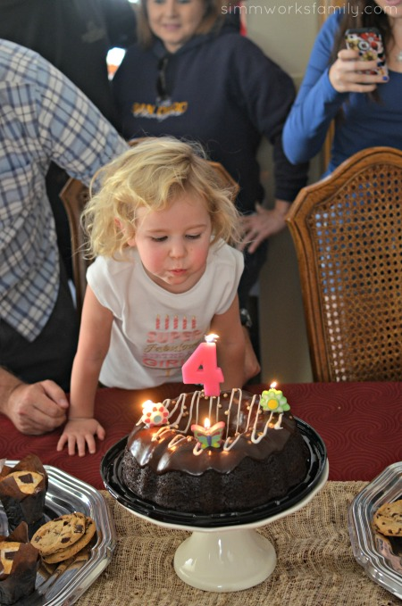 5 Tips for Cleaning The House Before a Party - blowing out the candles