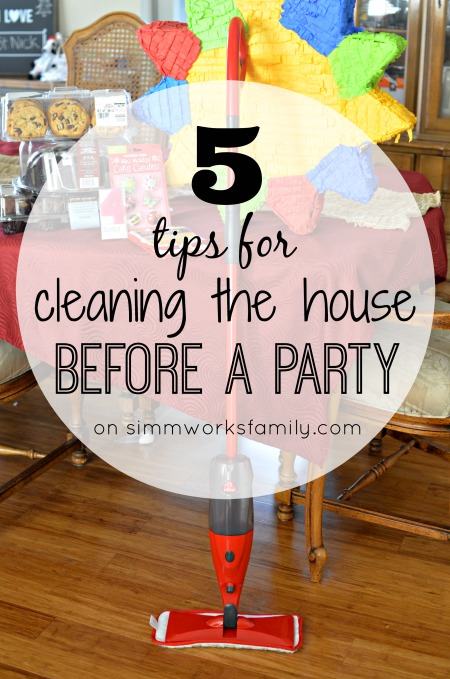 5 Tips for Cleaning The House Before a Party