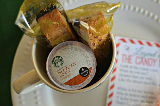 Coffee Gift Ideas with Keurig K-Cup packs and Biscotti