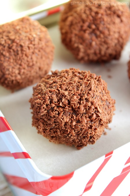 Coffee Truffles - delicious easy homemade gifts