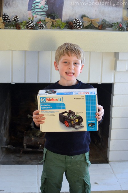 Creative Gift Ideas to Encourage Imagination - Make It Robotics Starter Kit from Radio Shack