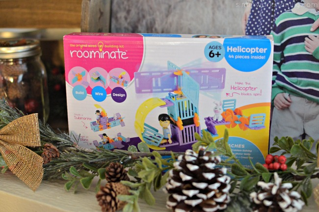 Creative Gift Ideas to Encourage Imagination - Roominate helicopter from Radio Shack