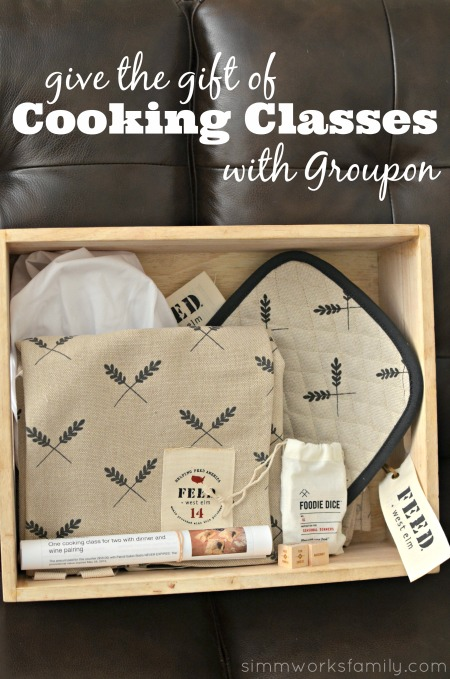 Give the Gift of Cooking Classes with Groupon