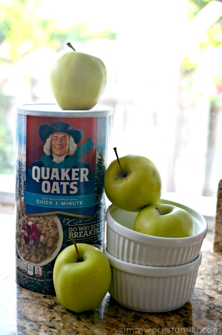 Oatmeal Recipes Quick and Delicious Apple Crisp with Quaker Oats