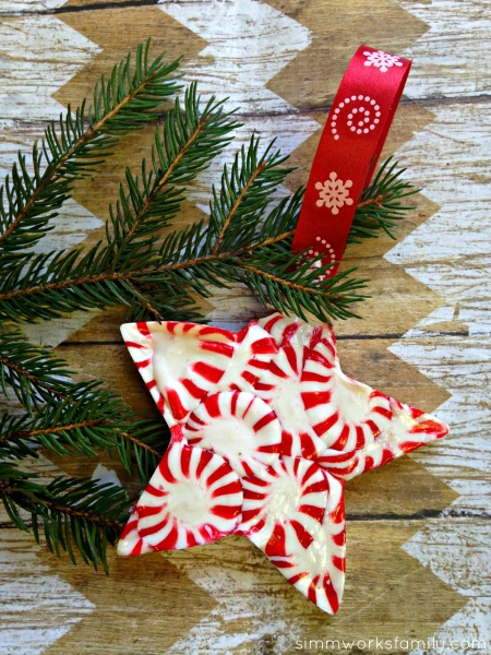 Peppermint Holiday Ornaments