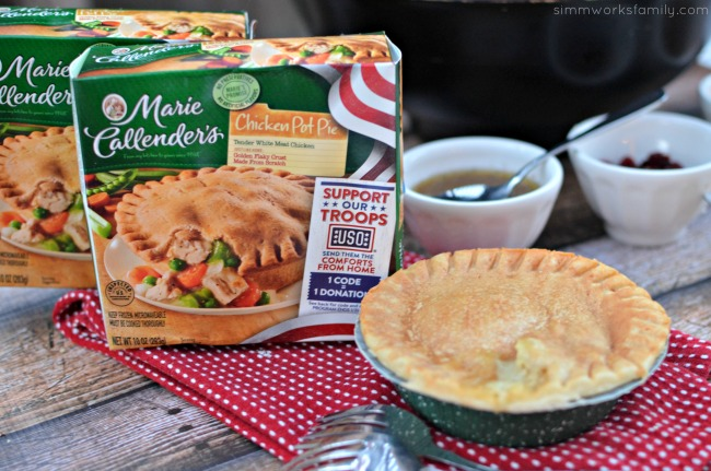 Quick And Easy Meal Pot Pies Support Our Troops