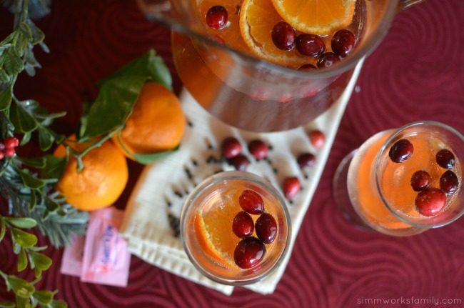 Spiced Citrus Sangria Drink Recipe ready to enjoy
