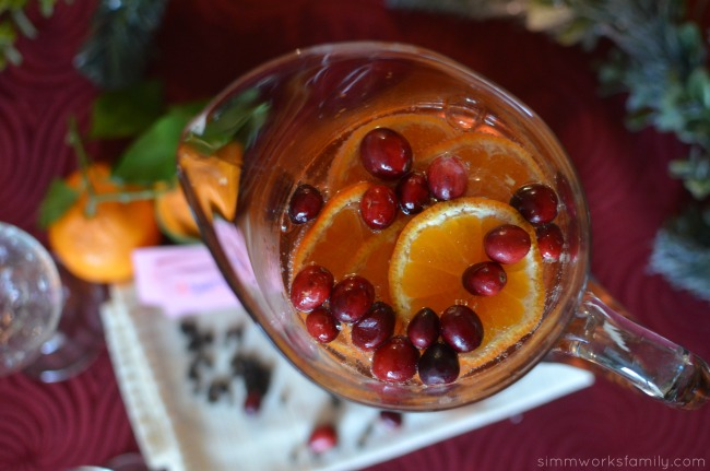 Spiced Citrus Sangria Pitcher