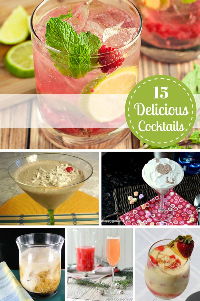 15 Delicious Cocktail Recipes