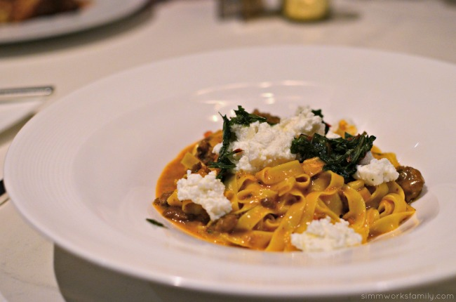 San Diego Restaurant Week 2015 - The Grant Grill Lamb Bolognese
