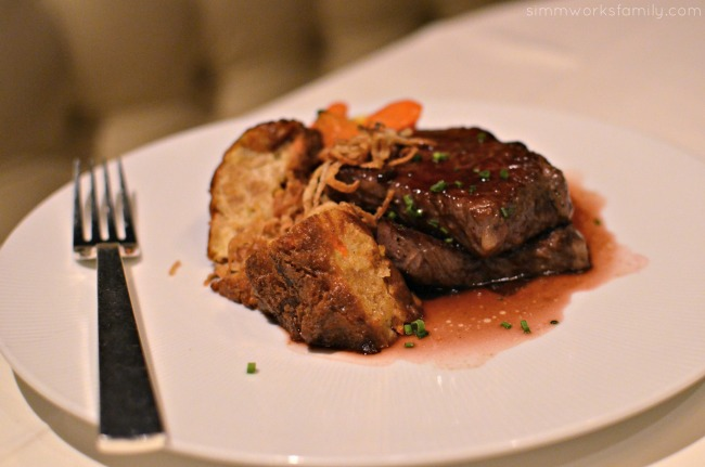 San Diego Restaurant Week 2015 - The Grant Grill Roasted Beef Loin