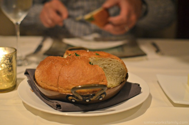 San Diego Restaurant Week 2015 - The Grant Grill focaccia