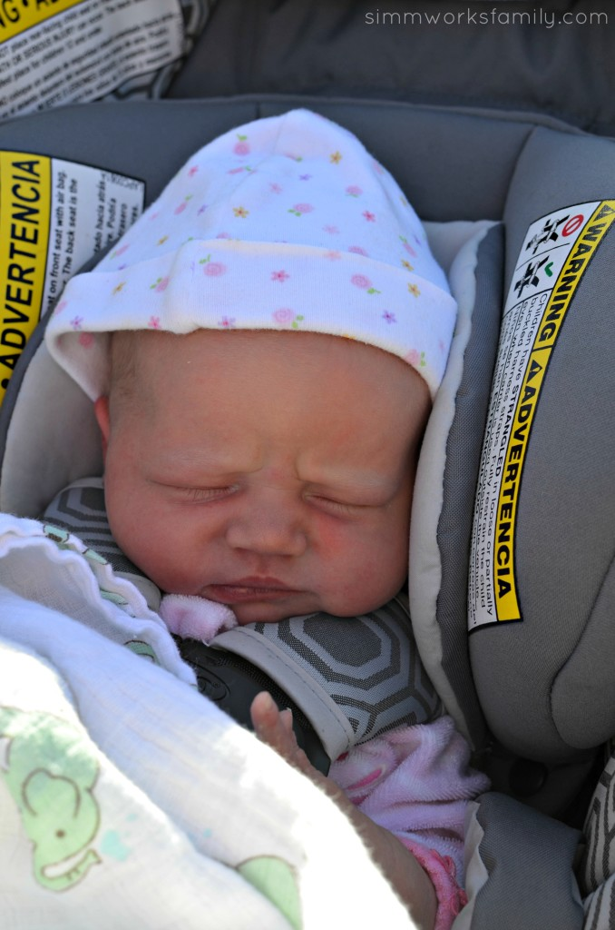 Norah coming home 2 days old