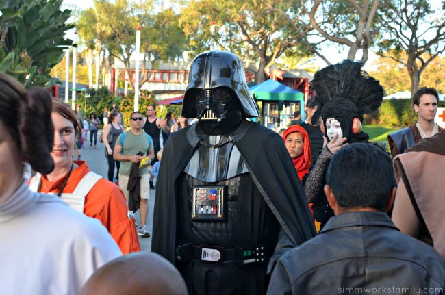 5 Reasons Why Star Wars Lovers Should Visit Legoland California - Darth Vader Costume