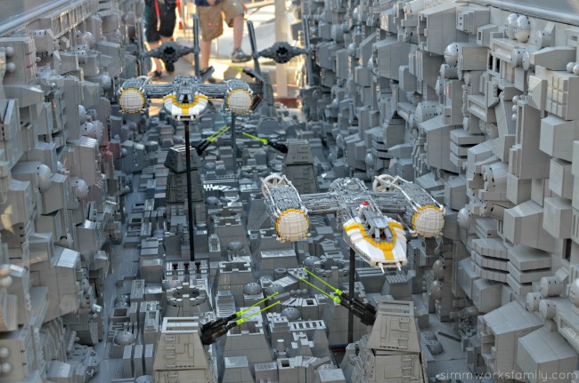 5 Reasons Why Star Wars Lovers Should Visit Legoland California - Trench Run Display