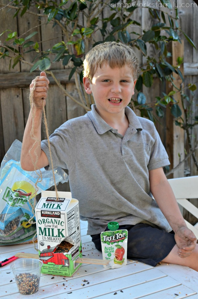 DIY Milk Carton Bird Feeder After School Activities for Kids - large