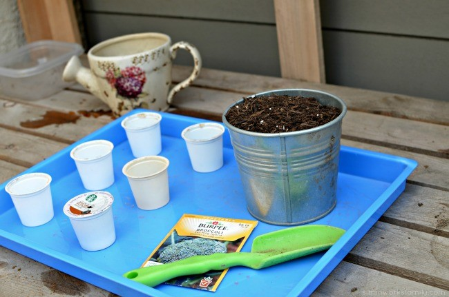 K-Cup Seed Starters - what you need
