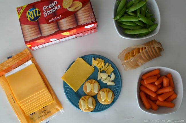 Making Snacktime Fun with Butterfly Crackers snack