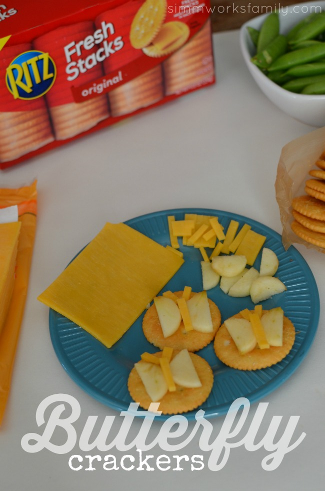 Making Snacktime Fun with Butterfly Crackers