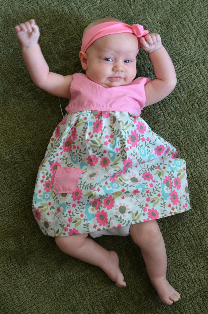 Norah Litle Dandelion Boutique Easter Dress 1