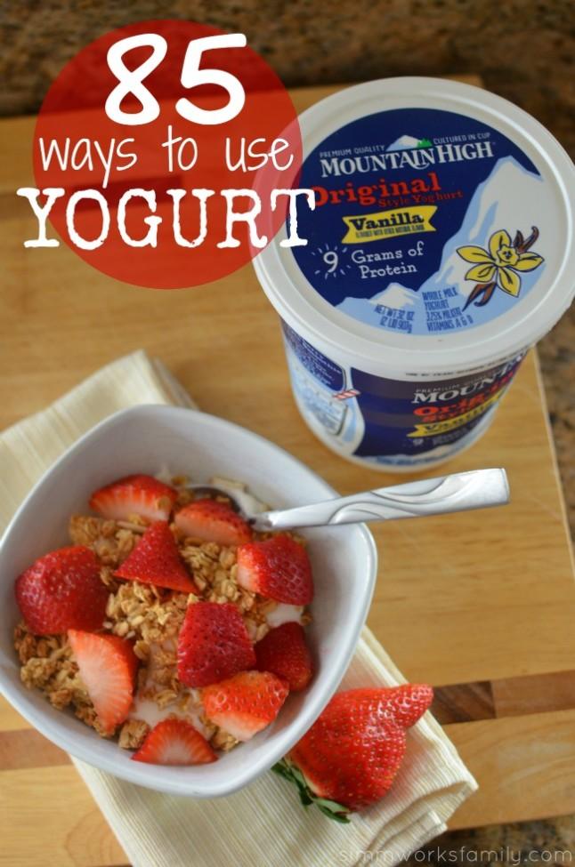 85 Ways to Use Yogurt