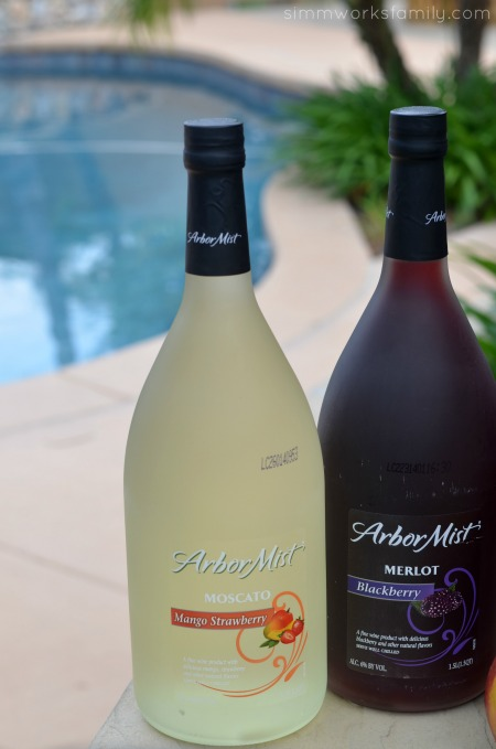 Boozy Smoothies By The Pool with Arbor Mist