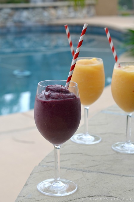 Boozy Smoothies By The Pool