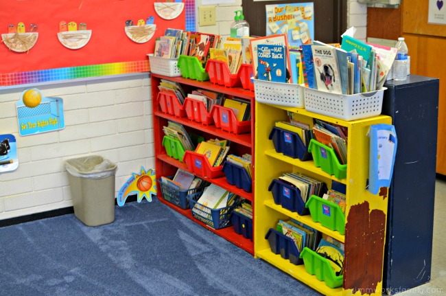 Creating a Comfortable Learning Environment - literacy center